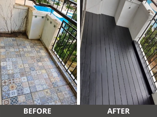 outdoor decking chengal timber decking