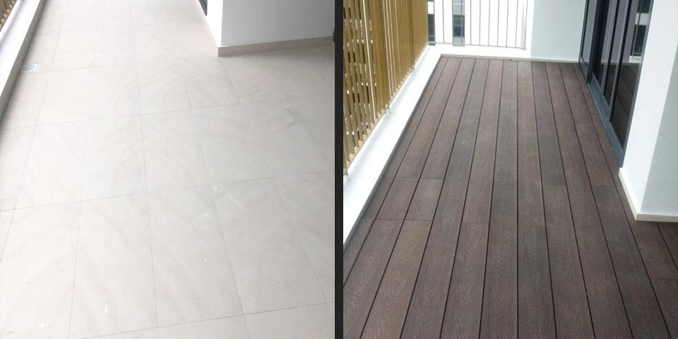 Outdoor Decking - WPC Aged Walnut 01 3