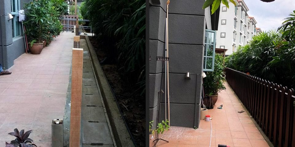 Outdoor Fencing - Chengal Fencing 01 2