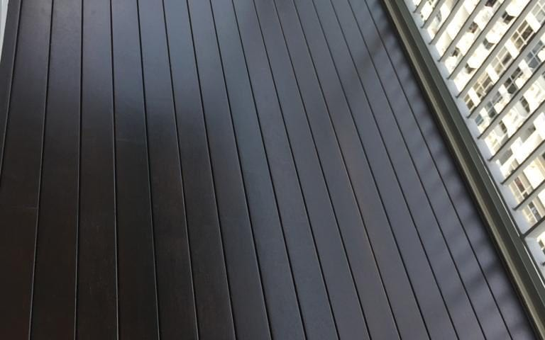Chengal Decking In Walnut Colour
