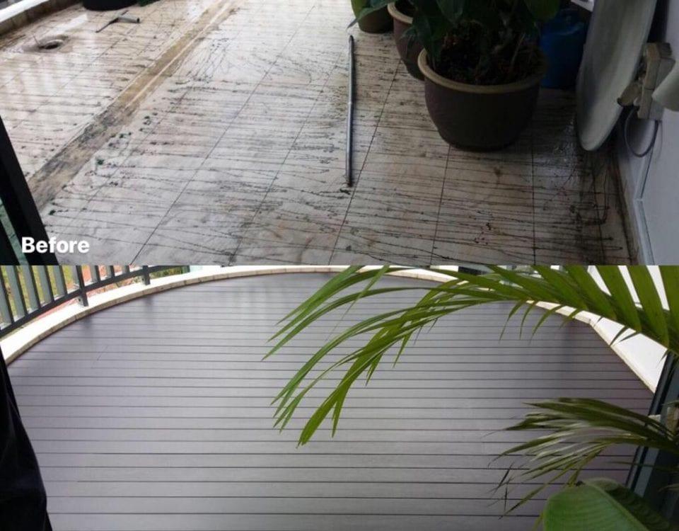 muflooring - Chengal deck