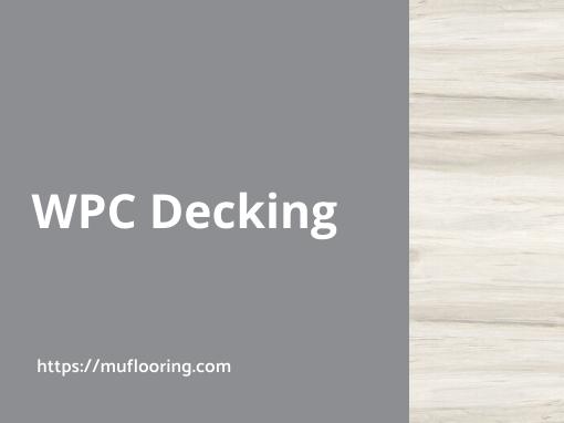 MuFlooring - WPC decking