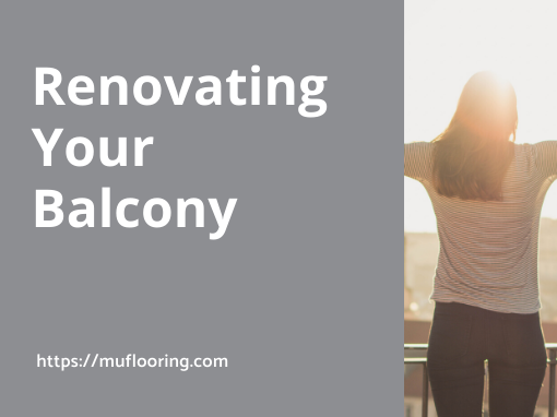 Renovating Your Balcony 4