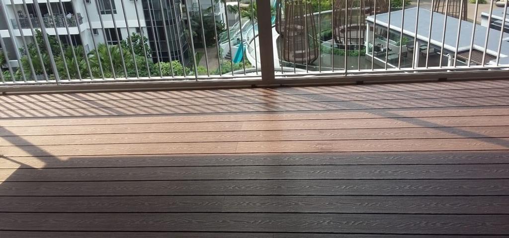 Teak Wood Colour WPC