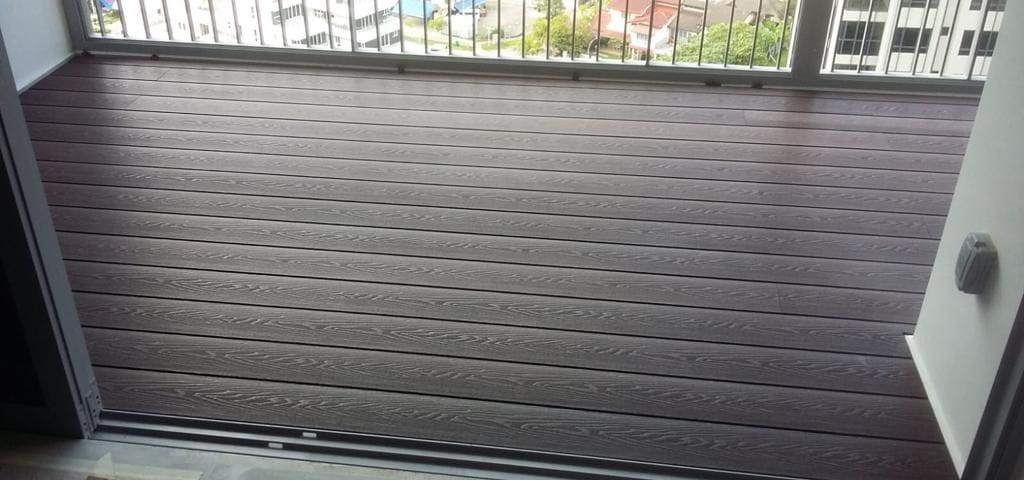 Muflooring - wpc balcony