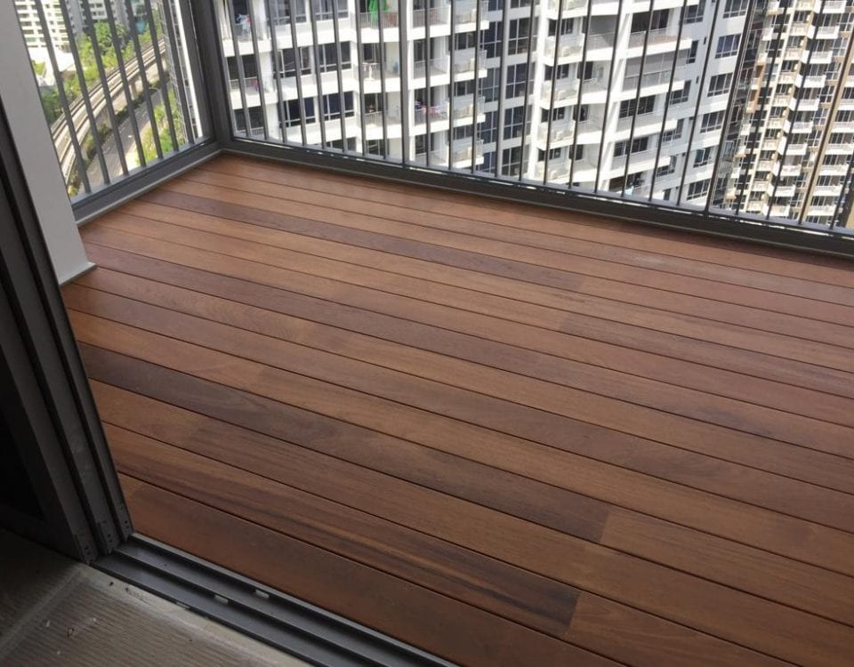 Luxurious Burmese Teak Deck 5