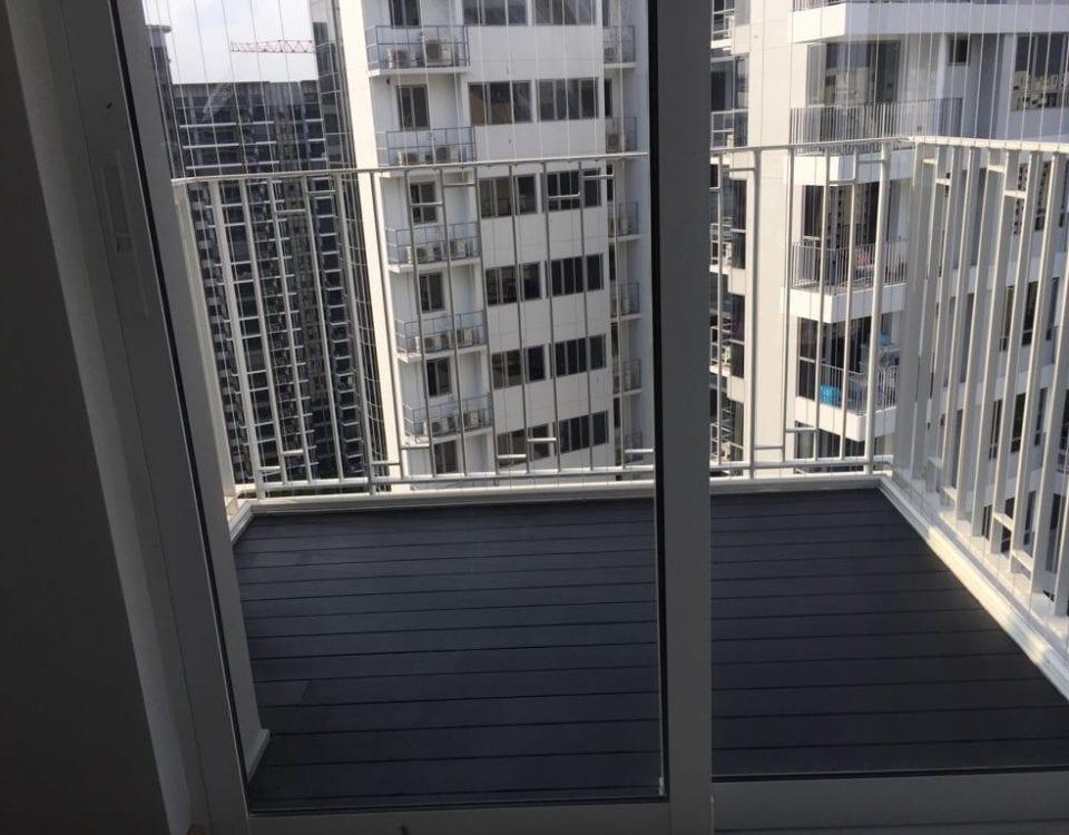 muflooring-Chengal decking balcony