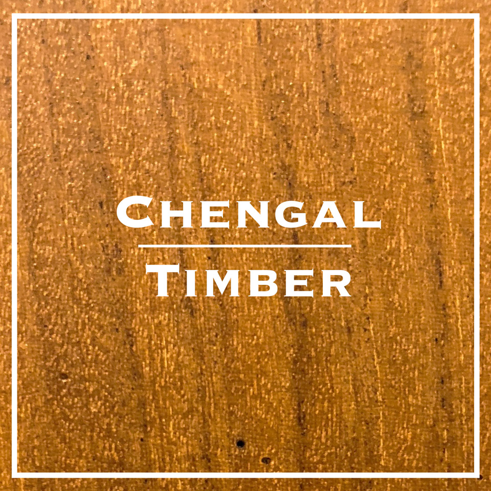 chengal timber decking