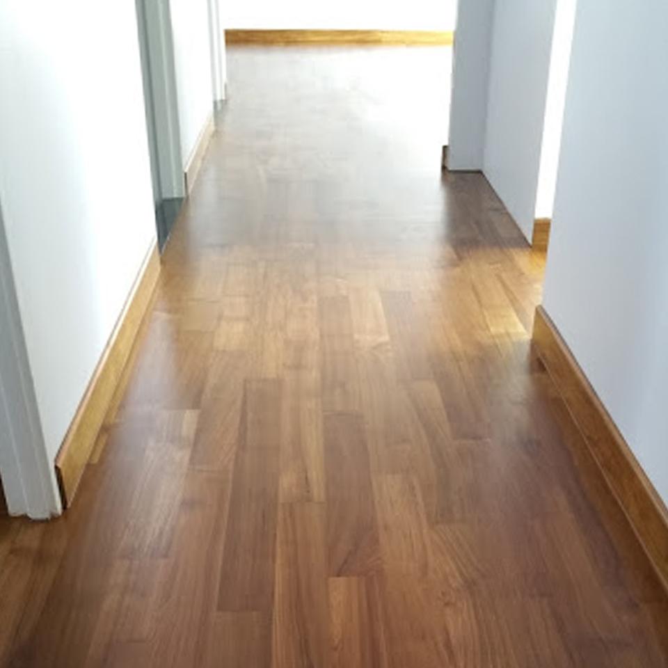 Indoor Flooring - Burmese Teak: 01 2