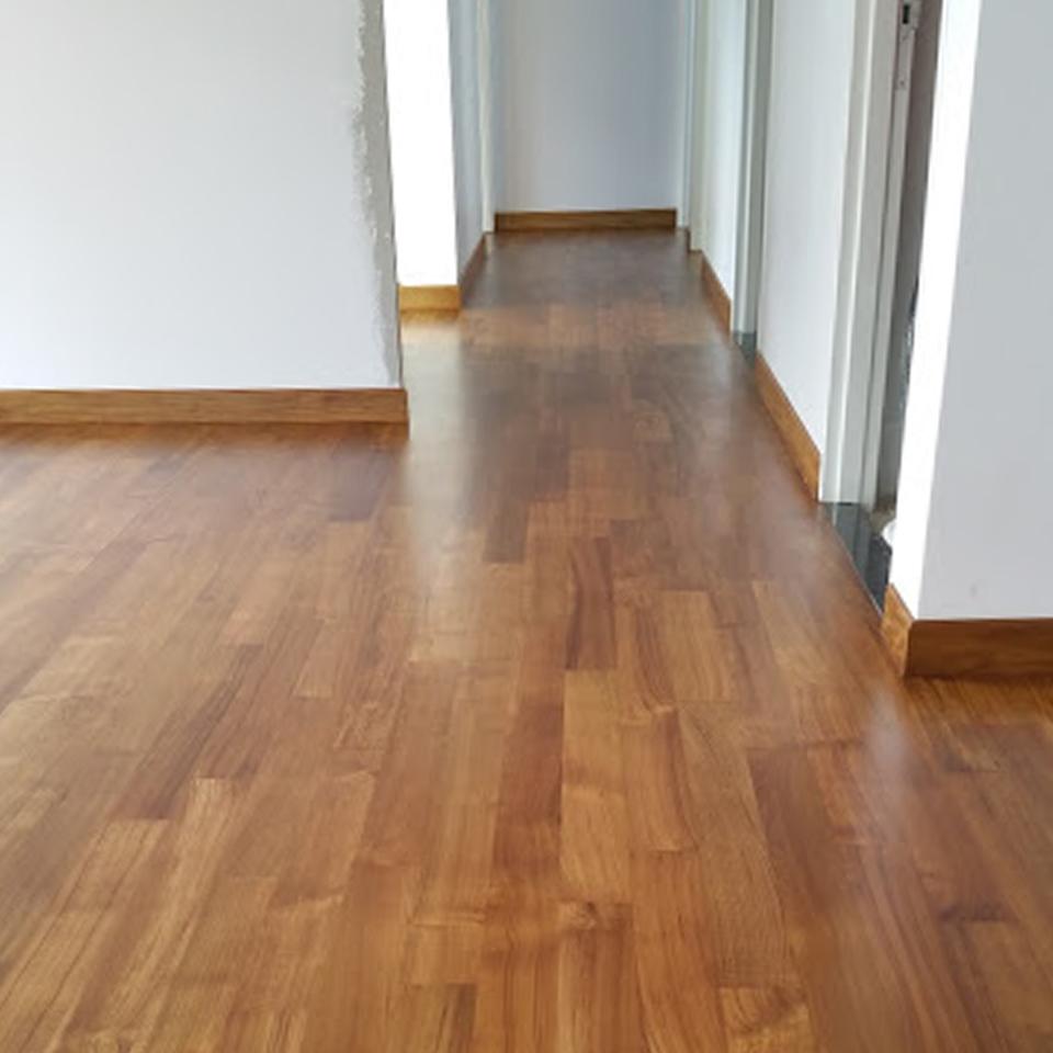 Indoor Flooring - Burmese Teak: 02 1