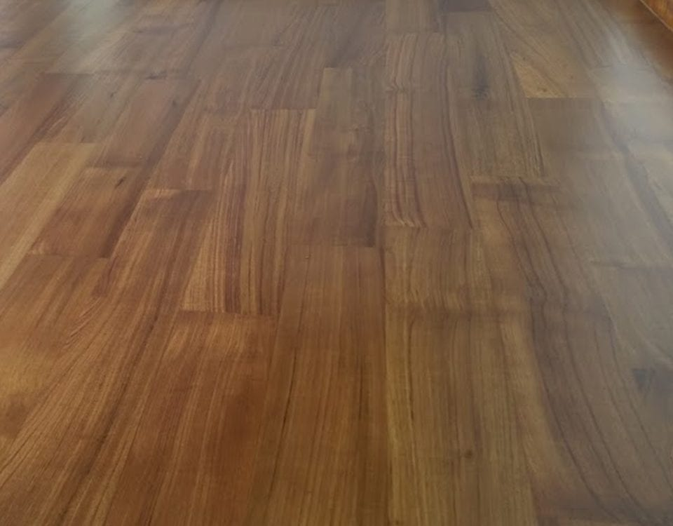 Indoor Flooring - Burmese Teak: 03 11