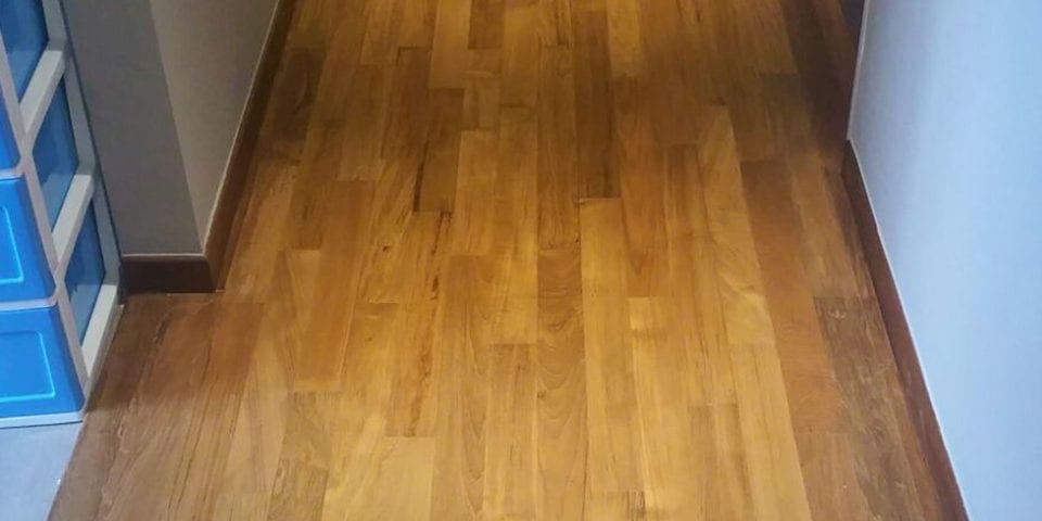 Indoor Flooring - Burmese Teak: 04 3