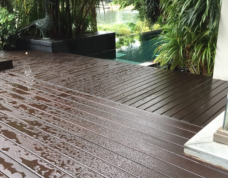 Outdoor Decking - Chengal: 12 4