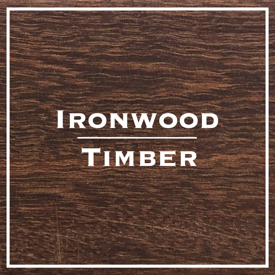 ironwood timber decking