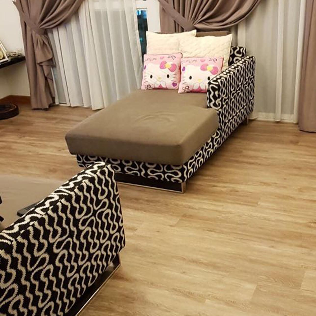 vinyl flooring for home living